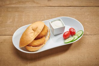 Broodje visburger