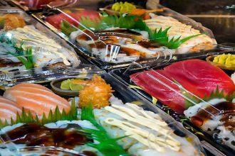 Mini box sushi